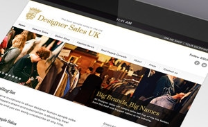Designer Sales UK website