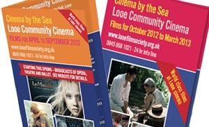 Looe Cinema leaflets